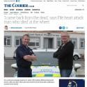 Quick thinking and defibrillator training help Stuart save a life